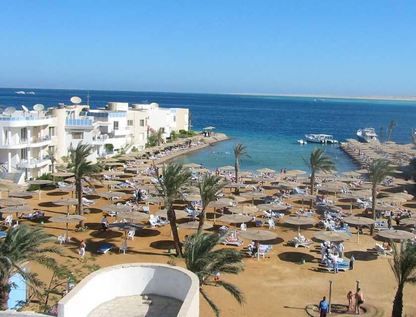 Découvrez Hurghada, la station balnéaire sur la côte de la mer Rouge d'Egypte