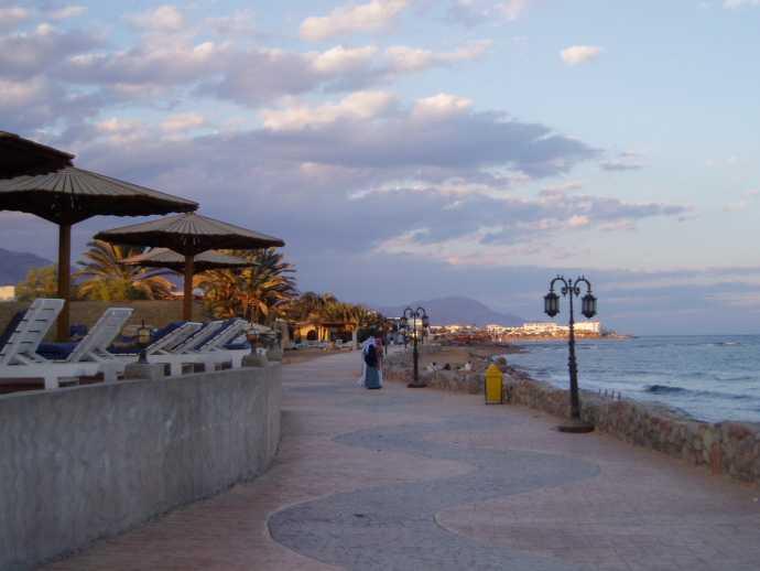 Découvrez la ville de Dahab près de la pointe sud du Sinaï.