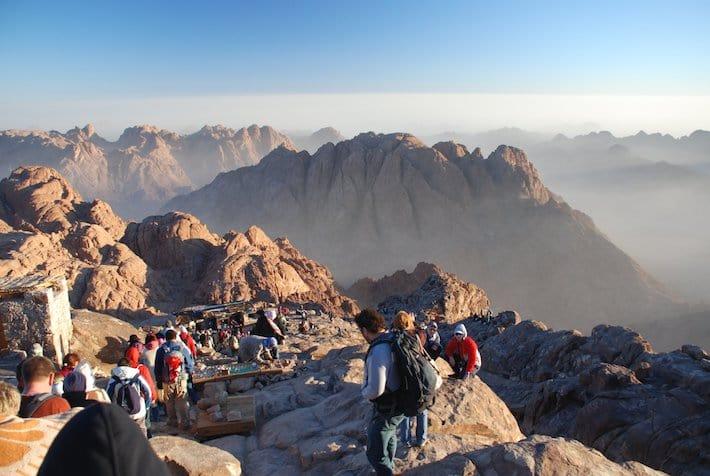 Le Mont Sinaï, 2 285 mètres d'altitude